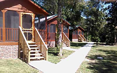 Mont Belview, TX Cabins